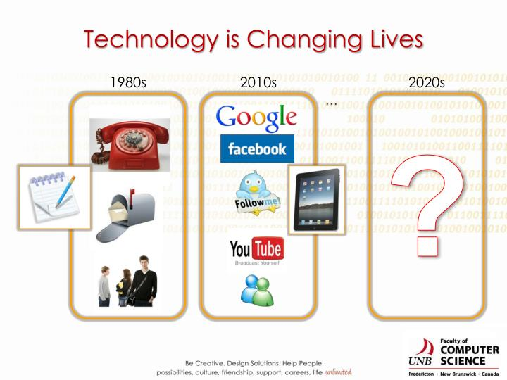Technology is Changing Lives