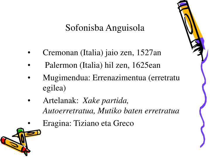 Sofonisba Anguisola