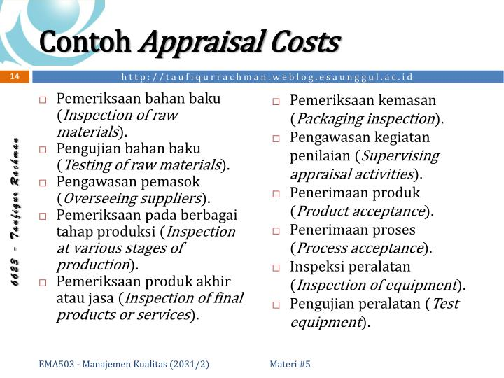 Ppt Cost Of Quality Powerpoint Presentation Id 5024159