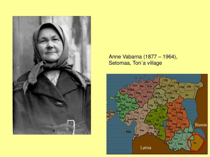 Anne Vabarna (