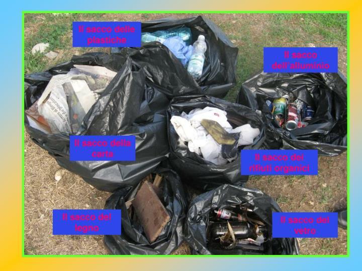 Il sacco delle plastiche