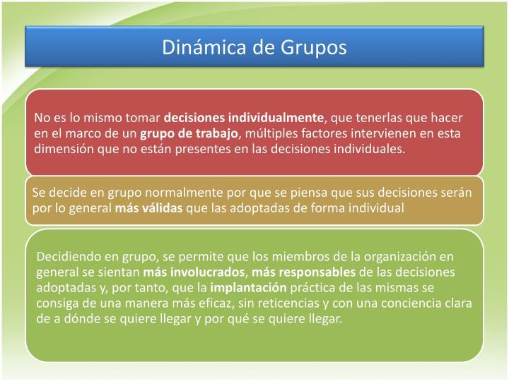 Dinámica de Grupos