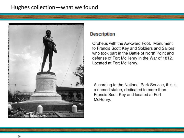 Hughes collection—what we found