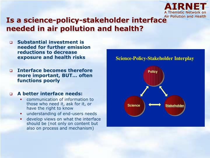 Substantial investment is needed for further emission reductions to decrease exposure and health risks