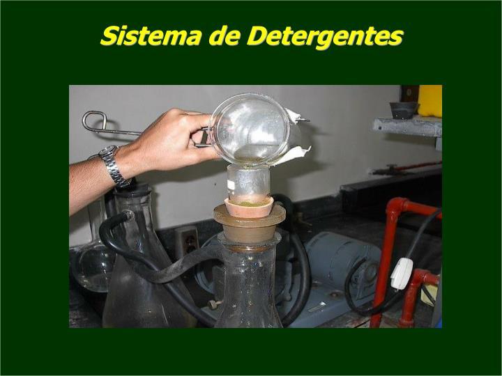 Sistema de Detergentes