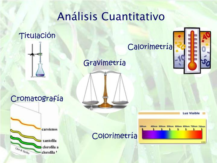 Análisis Cuantitativo