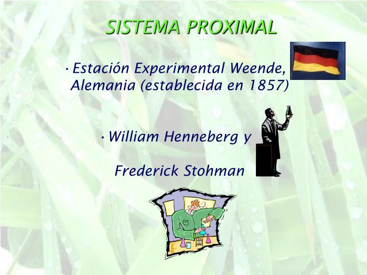 SISTEMA PROXIMAL