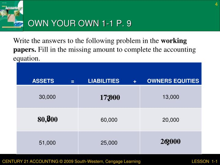 OWN YOUR OWN 1-1 P. 9