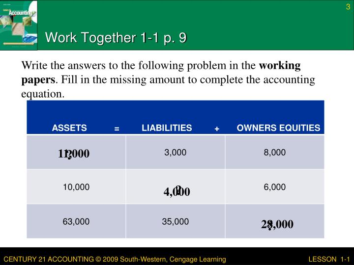 Work together 1 1 p 9