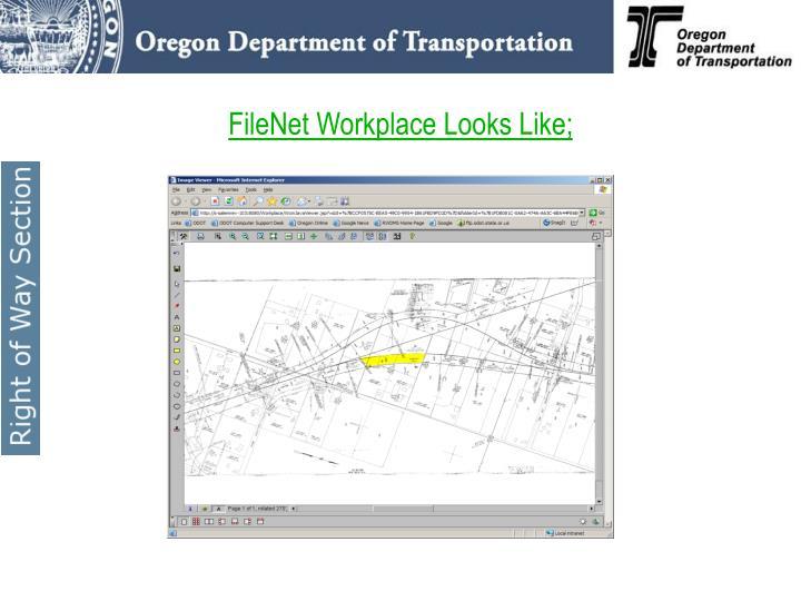FileNet Workplace Looks Like;