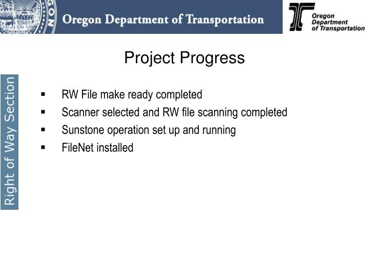 RW File make ready completed