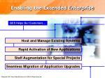 enabling the extended enterprise