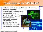 what s driving the asp market