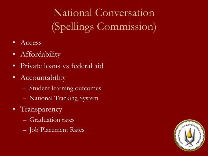 National Conversation