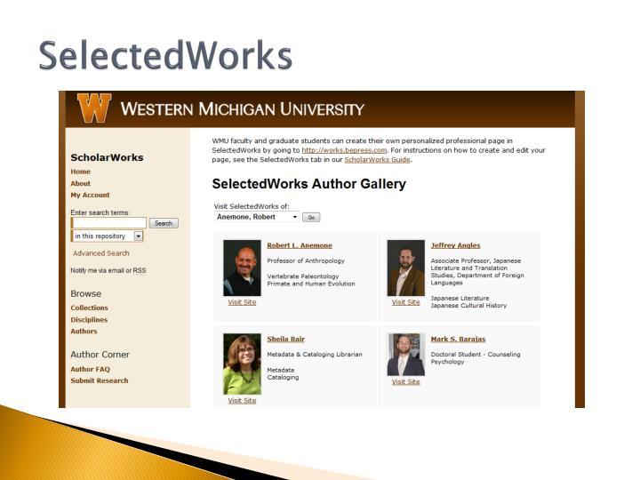 SelectedWorks