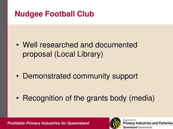 Nudgee Football Club
