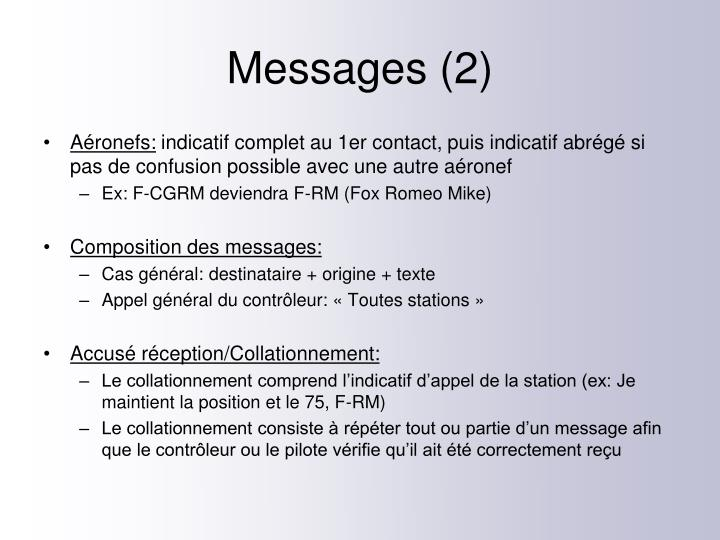 Messages (2)