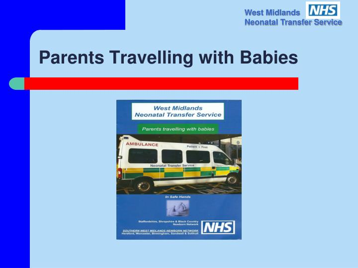 Parents Travelling with Babies