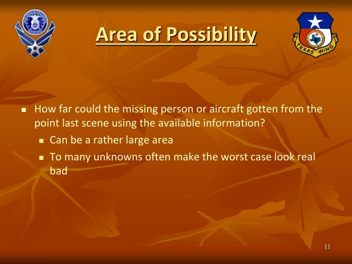 Area of Possibility