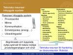 tekniska resurser inbyggda system