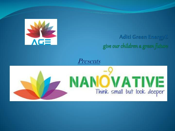 aditi green energyz give our children a green future n.