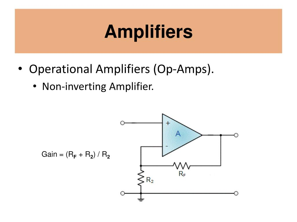 Ideal Non Inverting Amplifier Circuit