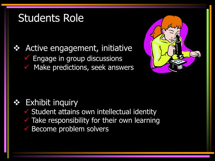 Students Role