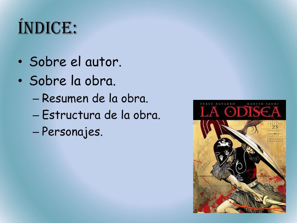 Ppt La Odisea Powerpoint Presentation Free Download Id