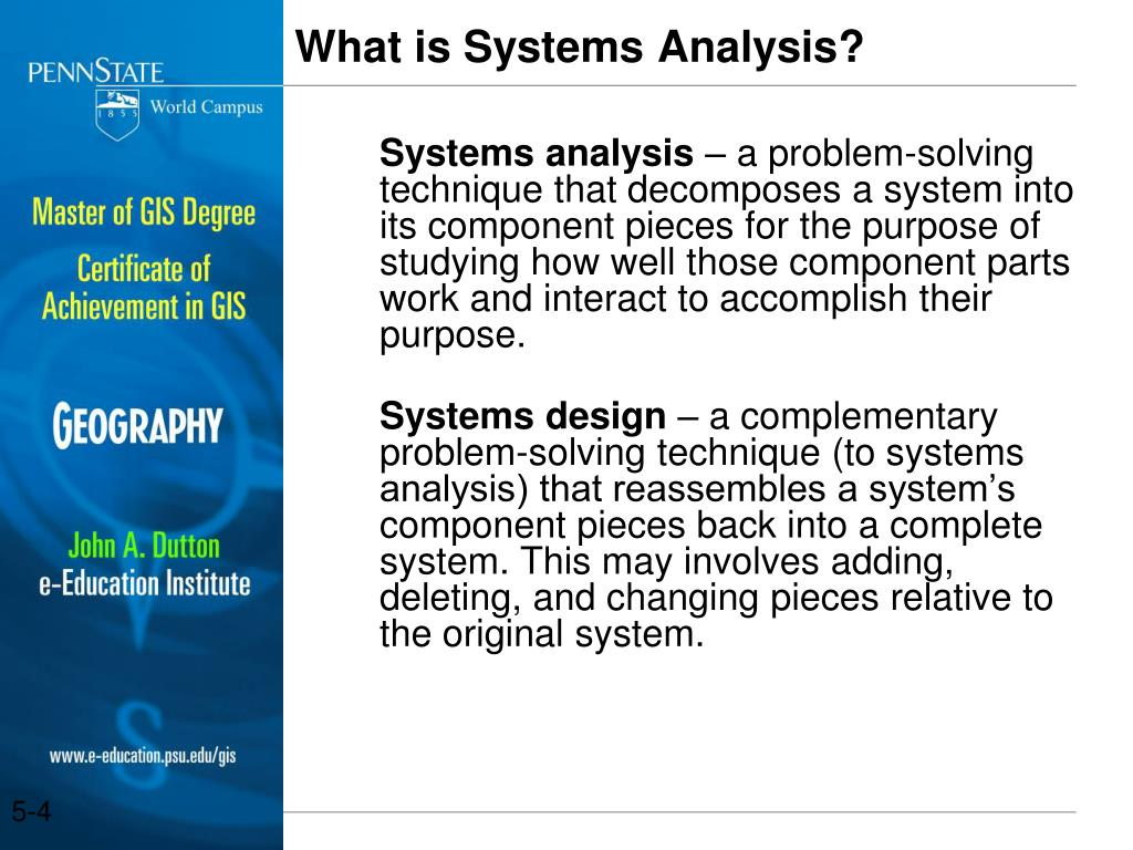 PPT - Geospatial Systems Analysis and Fact-Finding Todd S