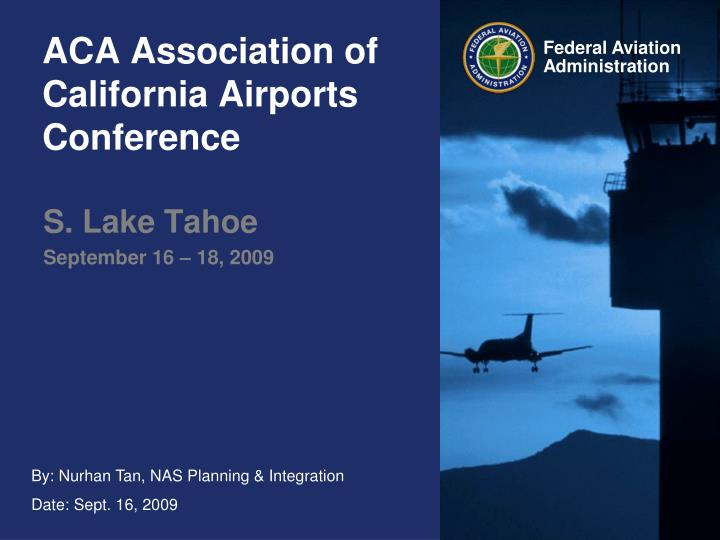 aca association of california airports conference n.