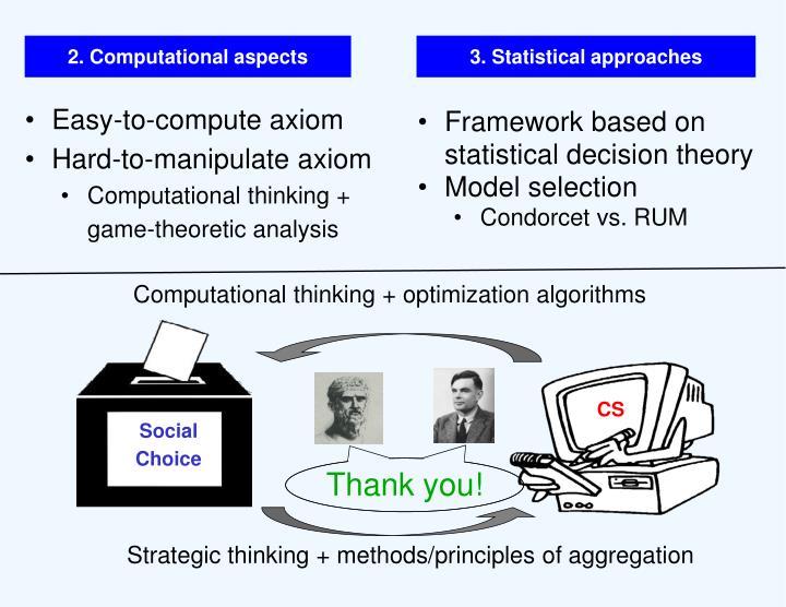 2. Computational aspects