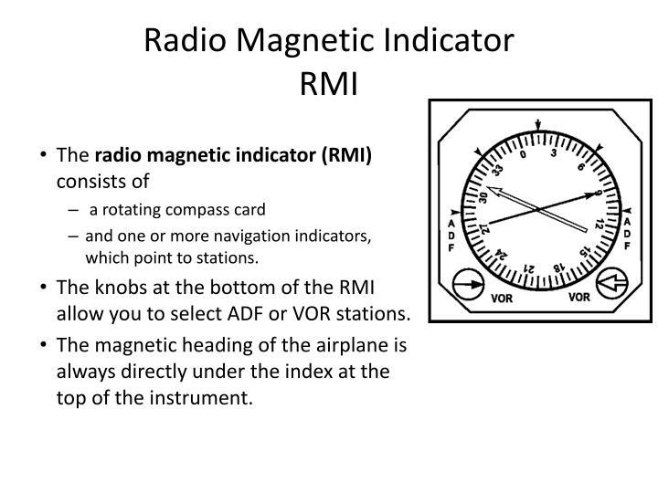 Radio Magnetic Indicator