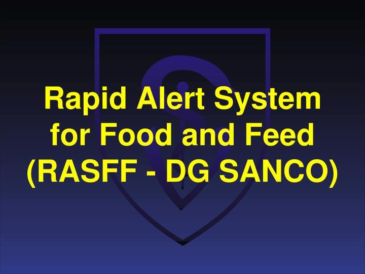Rapid Alert System
