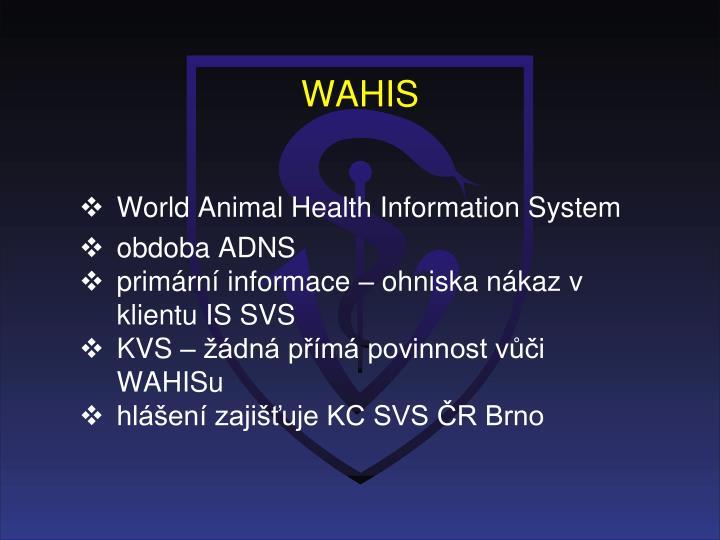 WAHIS