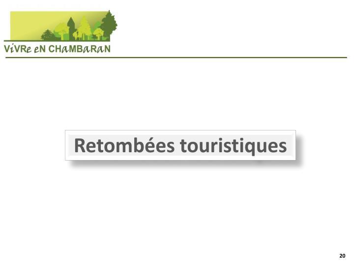 Retombées touristiques
