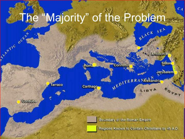 "The ""Majority"" of the Problem"