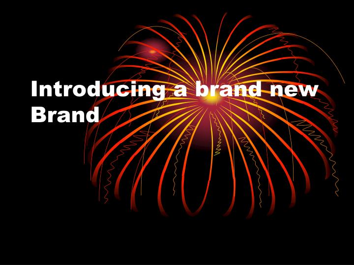 introducing a brand new brand n.