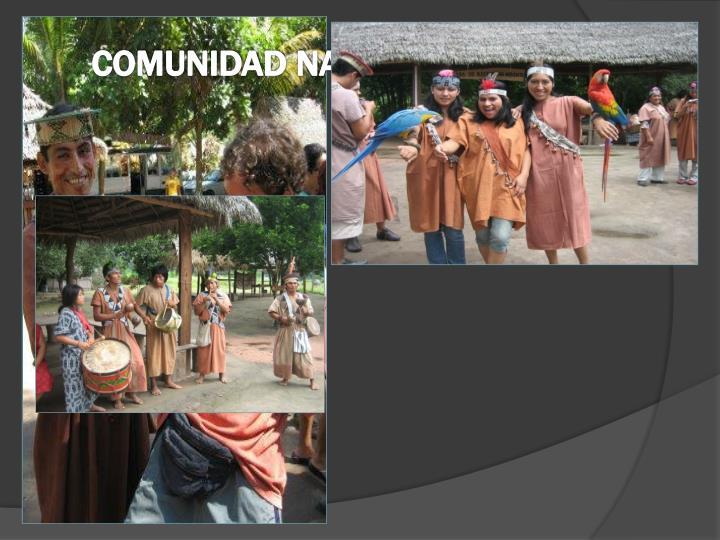COMUNIDAD NATIVA PAMPA MICHI