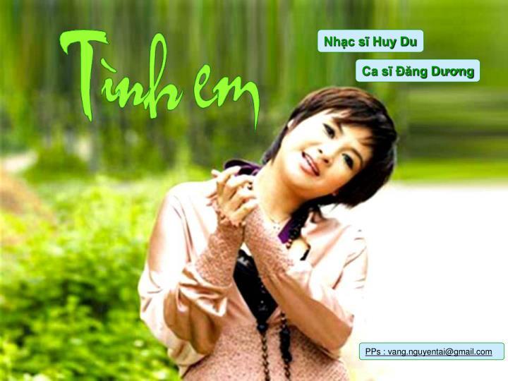 Nhạc sĩ Huy Du