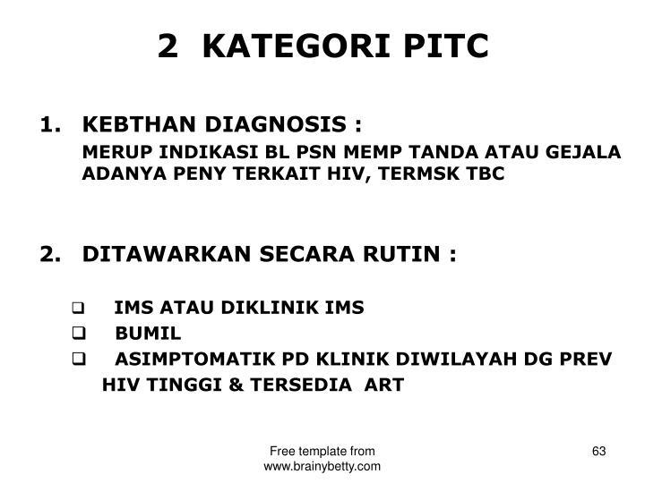 2  KATEGORI PITC