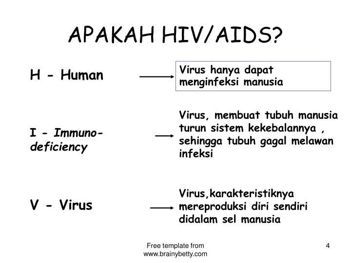 APAKAH HIV/AIDS?