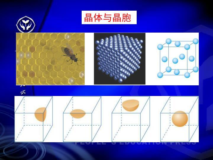 晶体与晶胞