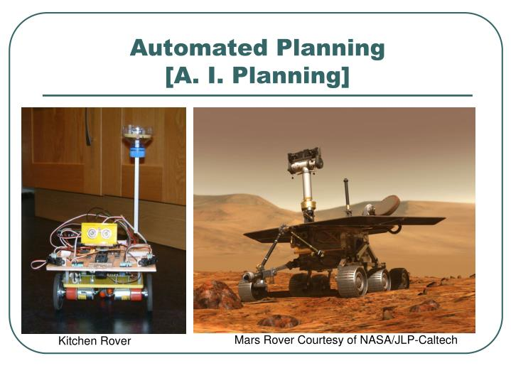 Automated planning a i planning