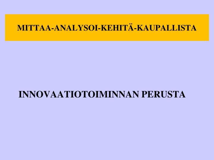 MITTAA-ANALYSOI-KEHITÄ-KAUPALLISTA