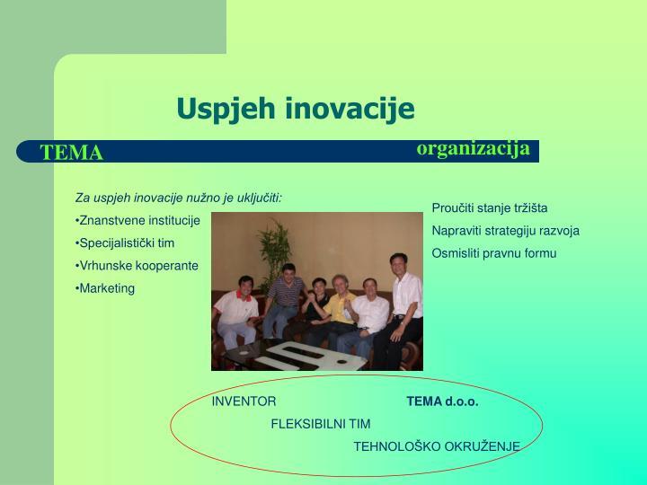 Uspjeh inovacije
