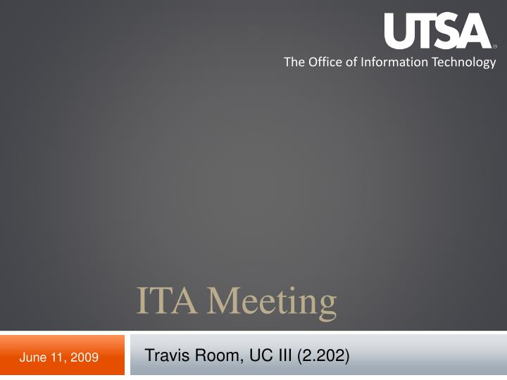 ita meeting n.