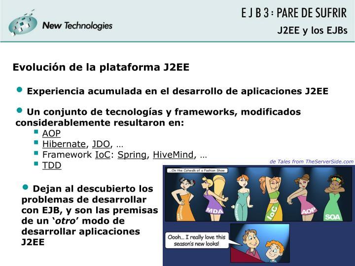 J2EE y los EJBs