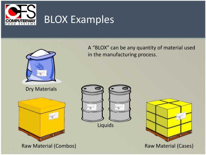 BLOX Examples