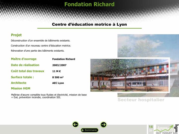Fondation Richard
