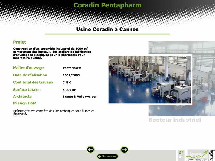 Coradin Pentapharm